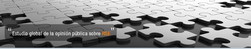 Estudio global de la opinión pública sobre RSE